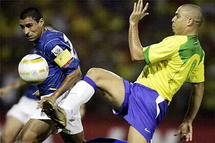 ブラジル引き分け!サッカーワー...
